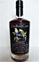 PANAMA SINGLE CASK RUM 2004 PEATED ISLAY WHISKY CASK 58,5% VOL  DON JOSE DESTILLERIE 13 JAHRE THERUMCASK