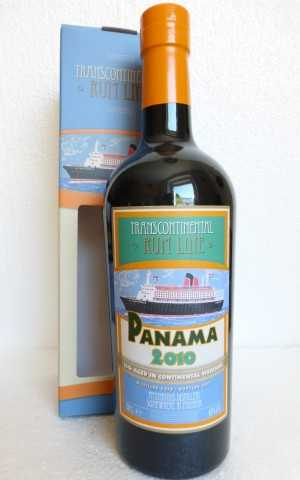 PANAMA RUM 2010 BATCH #2 43% VOL TRANSCONTINENTAL RUM LINE