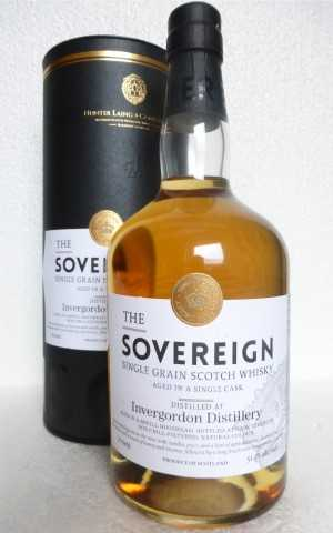 INVERGORDON 1988 REFILL HOGSHEAD 51,1% VOL HUNTER LAING THE SOVEREIGN