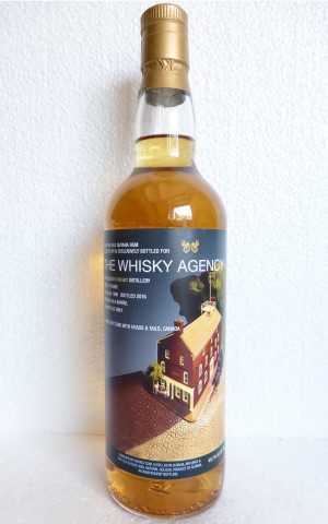 GUYANA 1990 SINGLE CASK RUM UITVLUGT DESTILLERIE 25 JAHRE 49,7% VOL THE WHISKY AGENCY