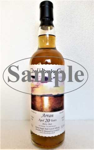 ARRAN 1996 SHERRY BUTT 53,3% VOL THEWHISKYCASK SAMPLE 4CL