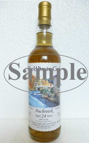 AUCHROISK 1991 SHERRY CASK 46,6% VOL THEWHISKYCASK SAMPLE