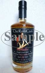 BARBADOS SINGLE CASK RUM 2000 WEST INDIES DESTILLERIE 16 JAHRE 57,6% VOL THERUMCASK SAMPLE