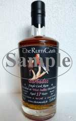 BARBADOS SINGLE CASK RUM 1999 WEST INDIES DESTILLERIE 17 JAHRE 53,6% VOL THERUMCASK SAMPLE