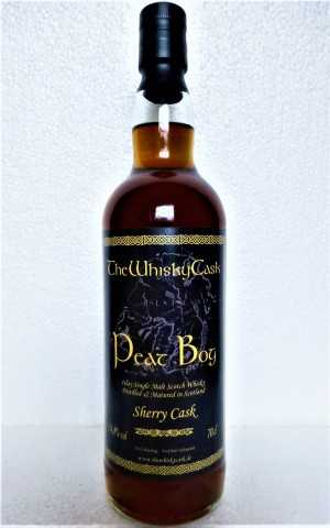 PEAT BOG SHERRY CASK 54,8% VOL THEWHISKYCASK