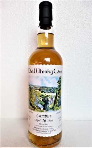 CAMBUS 1991 SHERRY BUTT 56,7% VOL THEWHISKYCASK
