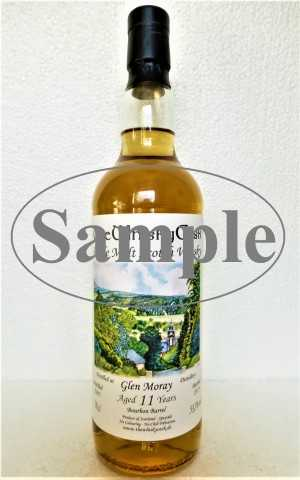 GLEN MORAY 2007 BOURBON BARREL 53,3% VOL THEWHISKYCASK SAMPLE 10CL
