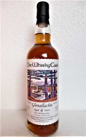 GLENALLACHIE 2012 FIRST FILL SHERRY BUTT 59,4% VOL THEWHISKYCASK
