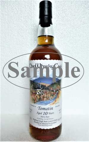 TOMATIN 2007 SHERRY BUTT 64,4% VOL THEWHISKYCASK SAMPLE