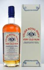 VELIER ROYAL NAVY VERY OLD RUM NAVY STRENGTH 57,18% VOL VELIER