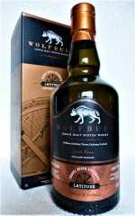 WOLFBURN LATITUDE TRAVEL RETAIL EXCLUSIVE BOURBON CASK 46% VOL ORIGINALABFÜLLUNG