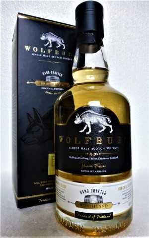 WOLFBURN NORTHLAND EX ISLAY QUARTER CASKS 46% VOL ORIGINALABFÜLLUNG