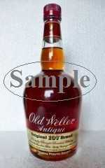 OLD WELLER ANTIQUE ORIGINAL 107 BRAND 53,5% VOL ORIGINALABFÜLLUNG SAMPLE 4CL